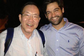 Dr. Marcelo Matsumoto, ex chefe e hoje um grande amigo – Chefe do grupo do membro superior da Unifesp – SP