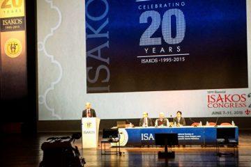 Isakos Congress 2015 em Lion, France – Aula