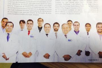 Matéria veiculada na revista Imagem Real do Hospital Português
